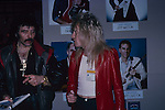 Tony Iommi & Wolf Marshall at NAMM 1987