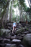 CANADA, Vancouver, British Columbia, Hiking The Grind at Grouse Mountain