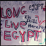 Revolutionary signage in Egypt.