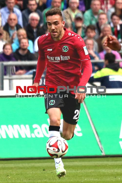 09.05.2015, HDI Arena, Hannover, GER, 1.FBL, Hannover 96 vs SV Werder Bremen im Bild <br /> <br /> KENAN KARAMAN (Hannover 96)<br /> <br /> Foto &copy; nordphoto / Rust