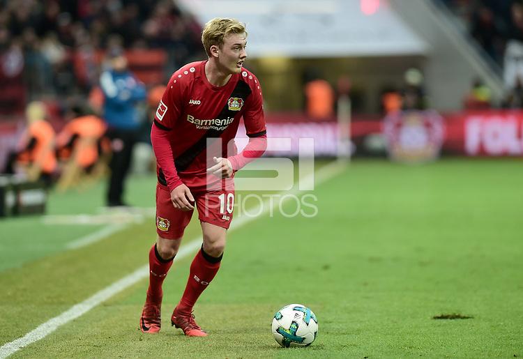 Football : Germany -1. Bundesliga  2017/18 <br /> Bayer Leverkusen 04 vs Mainz <br /> 28/01/2018 - Julian Brandt (Bayer 04 Leverkusen) *** Local Caption *** &copy; pixathlon<br /> Contact: +49-40-22 63 02 60 , info@pixathlon.de