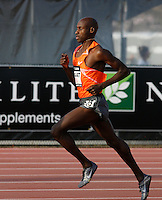 Bernard Lagat winning the 1500m run with a time of 3:36.38 at the Adidas Track Classic 2009 on Saturday May 16, 2009. Photo by Errol Anderson, The Sporting Image.net