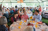 Fifty Year Club luncheon on Bell Field.<br />