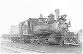 3/4 engineer's-side view of D&amp;RGW #278 at Gunnison.<br /> D&amp;RGW  Gunnison, CO  Taken by Richardson, Robert W. - 7/7/1949