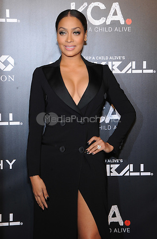 New York, NY- October 30:  Lala Anthony attends Keep a Child Alive's 11Annual Black Ball at Hammerstein Ballroom on October 30, 2014 in New York City. Credit: John Palmer/MediaPunch