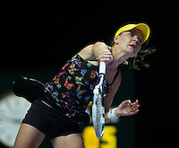 AGNIESZKA RADWANSKA (POL)<br /> <br /> The BNP Paribas WTA Finals 2014 - The Sports Hub - Singapore - WTA  2014  <br /> <br /> 24 October 2014<br /> <br /> &copy; AMN IMAGES