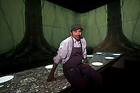 Chef Paul Pairet stands for a photograph at his Ultraviolet restaurant in Shanghai, China, September 27 2013.<br /> <br /> Photo by Qilai Shen / Sinopix