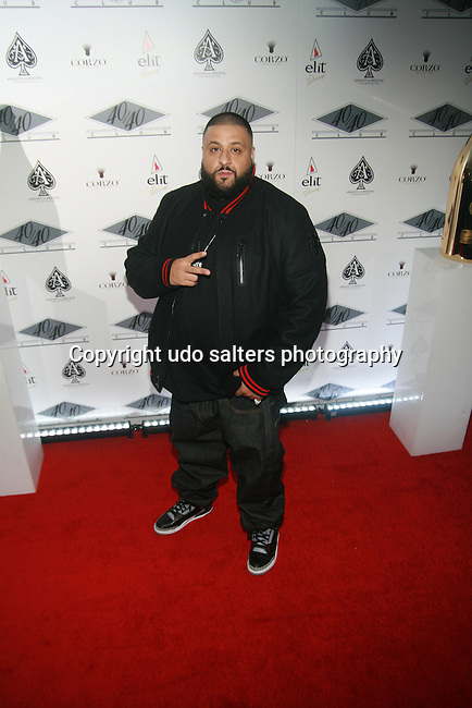 DJ Khaled  Attends the Grand Re-Opening of Jay-Z's 40/40 Club, NY  D. Salters/WENN 1/18/12