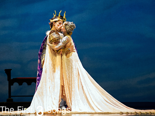 The Cincinnati ballet rehearses Camelot at the Aronoff Center for the Arts in Cincinnati, Ohio.  The 2013-2014 season marks the company's 50th Season in Cincinnati, Ohio.