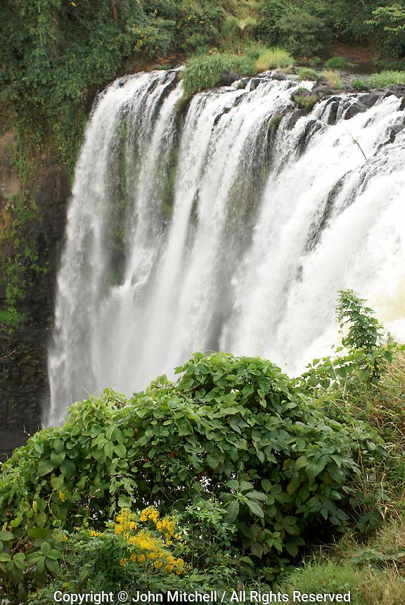 The Salta de Eyipantla waterfall near San Andres Tuxtla, Veracruz state, Mexico