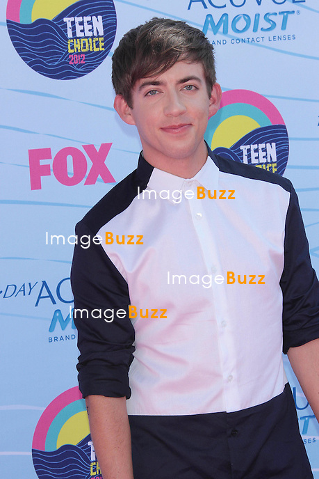 Kevin McHale  at the 2012 Teen Choice Awards..Los Angeles, July  22, 2012.