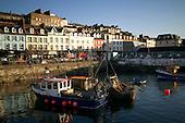 Cobh Harbour in Co. Cork, Ireland