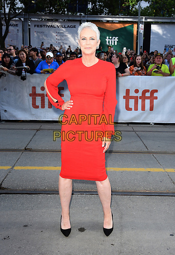 "TORONTO, ONTARIO - SEPTEMBER 07: Jamie Lee Curtis attends the ""Knives Out"" premiere during the 2019 Toronto International Film Festival at Princess of Wales Theatre on September 07, 2019 in Toronto, Canada.     <br /> CAP/MPI/IS<br /> ©IS/MPI/Capital Pictures"
