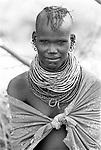 A Turkana woman<br /> <br /> Northern Kenya.