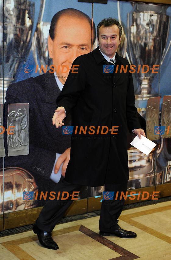 Dejan SAVICEVIC<br /> Milano, 13/03/2011 Teatro Manzoni<br /> 25&deg; anniversario di presidenza Berlusconi al Milan<br /> Campionato Italiano Serie A 2010/2011<br /> Foto Nicolo' Zangirolami Insidefoto