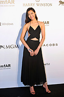 HONG KONG - MARCH 14:  Model Liu Wen arrives on the red carpet during the 2015 amfAR Hong Kong gala at Shaw Studios on March 14, 2015 in Hong Kong. Photo : Lucas Schifres/Abaca  (Photo by Lucas Schifres/Lucas Schifres)
