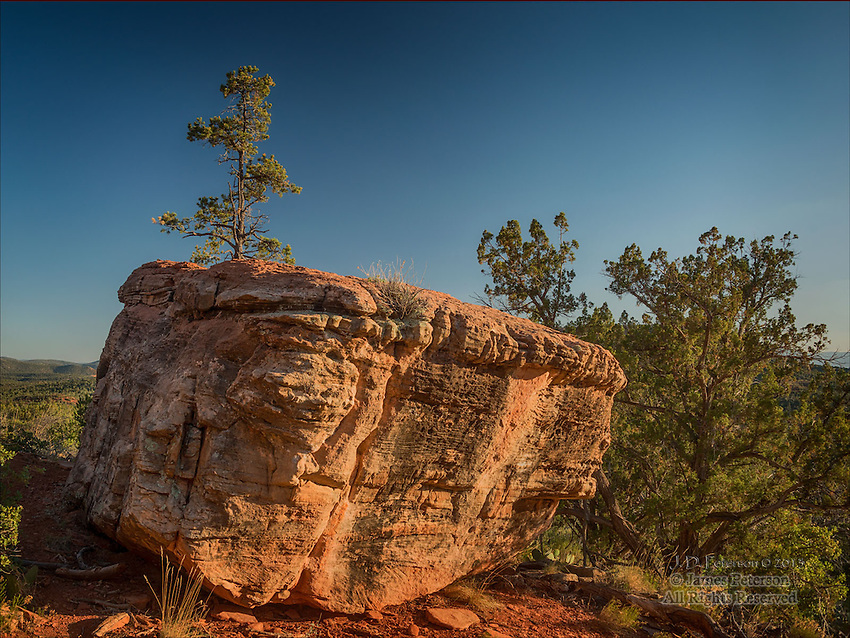 Boulder along Mescal Trail, Arizona