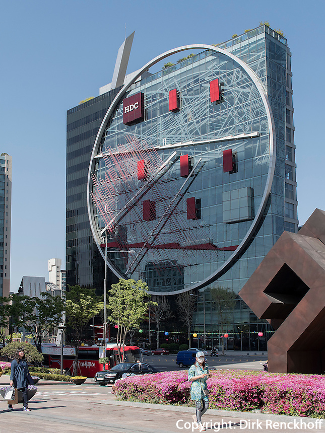 Haus Tangente von Daniel Libeskind in Gangnam, Seoul, S&uuml;dkorea, Asien<br /> House Tangente by Daniel Libeskind in Gangnam, Seoul, South Korea, Asia