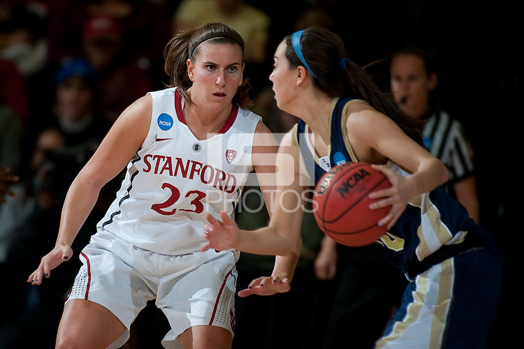 STANFORD, CA - MARCH 19, 2011:  Jeanette Pohlen at Maples Pavilion, March 19, 2010 in Stanford, California.