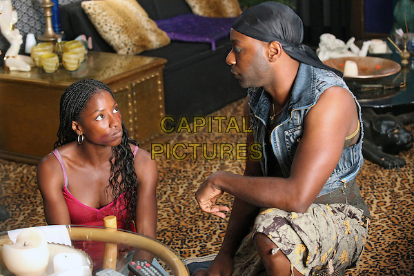 RUTINA WESLEY & NELSAN ELLIS.in True Blood (Season 2).*Filmstill - Editorial Use Only*.CAP/FB.Supplied by Capital Pictures.