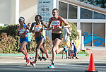 Wales Caryl Jones in action during the Woman's Marathon<br /> <br /> *This image must be credited to Ian Cook Sportingwales and can only be used in conjunction with this event only*<br /> <br /> 21st Commonwealth Games - Marathon - Day 11 - 11\04\2018 - Gold Coast City - Australia