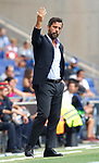Quique Sanchez Flores in action during La Liga Game between RCD Espanyol agaisnt Leganes at RCDE Stadium