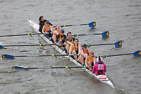 Crew: 124   Peterborough City Rowing Club/Lincoln Rowing Centre   W.MasB.8+<br /> <br /> Veterans' Head of the River Race 2018<br /> <br /> To purchase this photo, or to see pricing information for Prints and Downloads, click the blue 'Add to Cart' button at the top-right of the page.