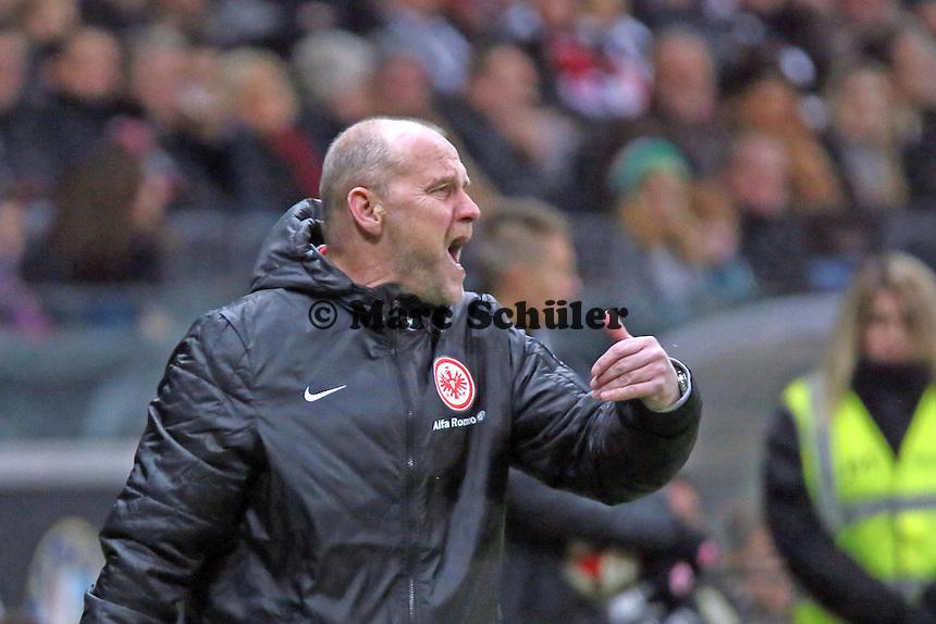 Trainer Thomas Schaaf (Eintracht) regt sich auf - Eintracht Frankfurt vs. SV Werder Bremen, Commerzbank Arena