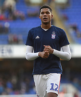 Ipswich Town's Jordan Spence during the pre-match warm-up <br /> <br /> Photographer Hannah Fountain/CameraSport<br /> <br /> The EFL Sky Bet Championship - Ipswich Town v Sheffield United - Saturday 22nd December 2018 - Portman Road - Ipswich<br /> <br /> World Copyright © 2018 CameraSport. All rights reserved. 43 Linden Ave. Countesthorpe. Leicester. England. LE8 5PG - Tel: +44 (0) 116 277 4147 - admin@camerasport.com - www.camerasport.com