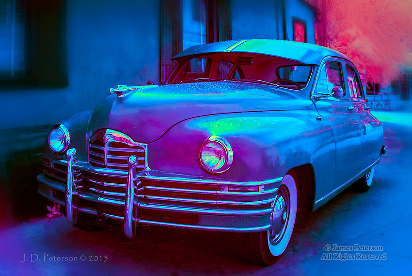 1940s Packard, Bisbee, Arizona (Infrared)