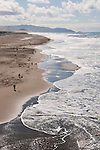 Ocean, Beach, Waves, Pacific Ocean, San Francisco, California, USA.  Photo copyright Lee Foster.  Photo # california108335