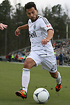 04 March 2012: Vancouver's Davide Chiumiento (SUI). The NASL Carolina RailHawks played the MLS Vancouver Whitecaps FC to a 2-2 tie at WakeMed Soccer Stadium in Cary, NC in a preseason game for both teams. After the game, the RailHawks defeated the Whitecaps 4-2 in a penalty kick shootout to win the RailHawks Community Shield.