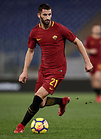 Calcio, Serie A: AS Roma - Atalanta, Roma, stadio Olimpico, 6 gennaio 2018.<br /> AS Roma's Maxime Gonalons in action during the Italian Serie A football match between AS Roma and Atalanta at Rome's Olympic stadium, January 6 2018.<br /> UPDATE IMAGES PRESS/Isabella Bonotto