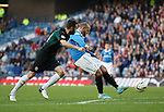 Kris Boyd scores Rangers fourth goal of the afternoon