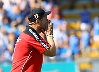 Trainer Steffen Baumgart (SC Paderborn 07) - 05.08.2018: SV Darmstadt 98 vs. SC Paderborn 07, Stadion am Boellenfalltor, 1. Spieltag 2. Bundesliga<br /> <br /> DISCLAIMER: <br /> DFL regulations prohibit any use of photographs as image sequences and/or quasi-video.