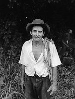 A member of the community of Nueva Esperanza, El Salvador, 1999.