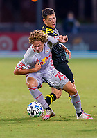 16th July 2020, Orlando, Florida, USA;  New York Red Bulls forward Tom Barlow (74) during the MLS Is Back Tournament between the Columbus Crew SC versus New York Red Bulls on July 16, 2020 at the ESPN Wide World of Sports, Orlando FL.