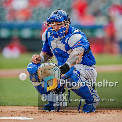 28 February 2019: New York Mets catcher Wilson Ramos warms up prior to a Spring Training game against the St. Louis Cardinals at Roger Dean Stadium in Jupiter, Florida. The Mets defeated the Cardinals 3-2 in Grapefruit League play. Mandatory Credit: Ed Wolfstein Photo *** RAW (NEF) Image File Available ***