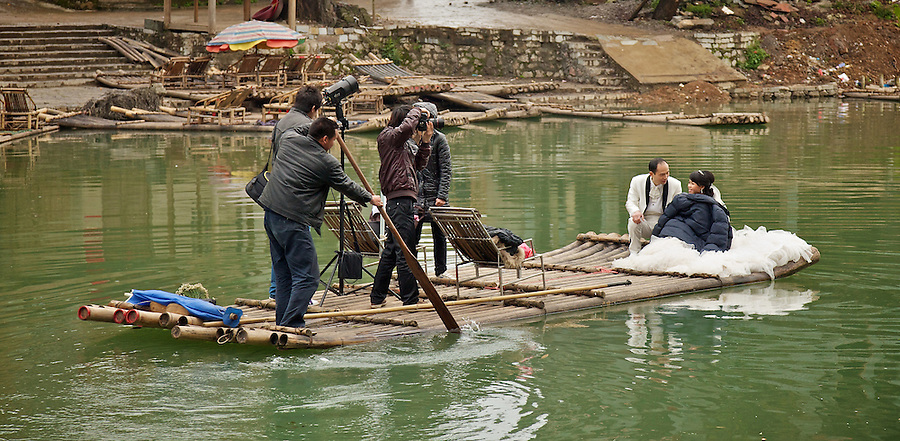 Wedding Photographs, Guilin-Style.  Yangshou, China.