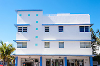 US, Florida, Miami Beach. Art Deco, 1100 Collins Ave.