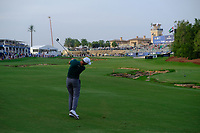 Ross Fisher (ENG) on the 18th fairway during the 2nd round of the DP World Tour Championship, Jumeirah Golf Estates, Dubai, United Arab Emirates. 16/11/2018<br /> Picture: Golffile | Fran Caffrey<br /> <br /> <br /> All photo usage must carry mandatory copyright credit (© Golffile | Fran Caffrey)