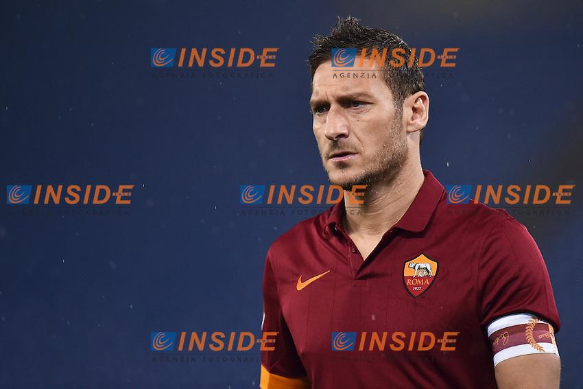 Francesco Totti Roma <br /> Roma 16-03-2015 Stadio Olimpico Football Calcio Serie A 2014/2015 AS Roma - Sampdoria . Foto Andrea Staccioli / Insidefoto