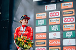 Floortje Mackaij (NED) Team Sunweb Women 2nd place at the end of the 2019 Liège-Bastogne-Liège Femmes, running 138.5km from Bastogne to Liege, Belgium. 28th April 2019<br /> Picture: ASO/Thomas Maheux | Cyclefile<br /> All photos usage must carry mandatory copyright credit (© Cyclefile | ASO/Thomas Maheux)