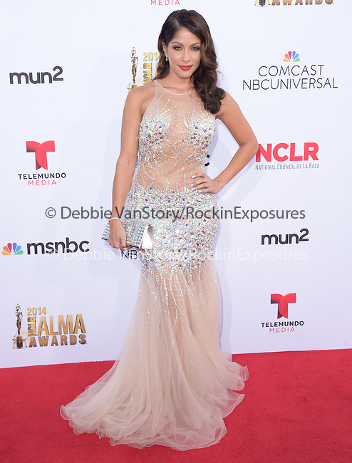 Valery Ortiz attends The 2014 NCLR Alma Awards held at The Pasadena Civic Center in Pasadena, California on October 10,2014                                                                               © 2014 Hollywood Press Agency