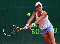 BOGOTA -COLOMBIA- 13 -AGOSTO-2014.  Maria Irigoyen de Argentina  vencio a la Alemana Maria Tatjana  durante el torneo de tenis Seguros Bolivar  Open  . / Maria Irigoyen of Argentina won the German Tatjana Maria during Tennis Tournament Seguros Bolivar Open. Photo: VizzorImage / Felipe Caicedo / Staff