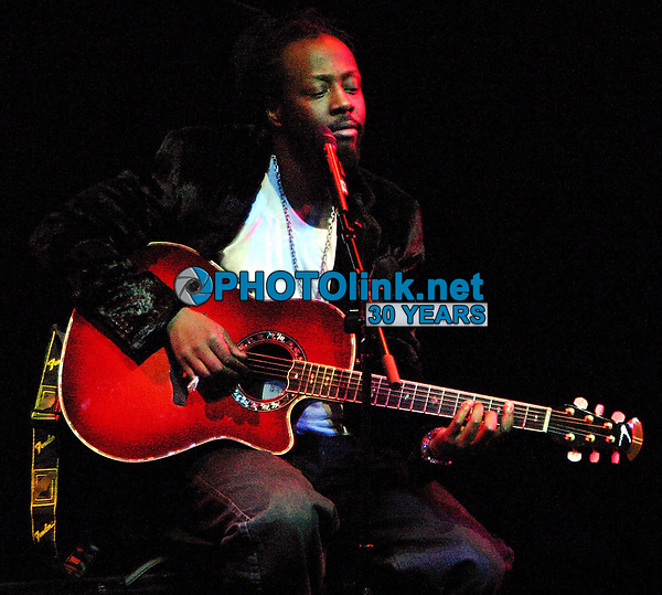 Wyclef Jean<br /> 2003<br /> Photo By John Barrett/PHOTOlink