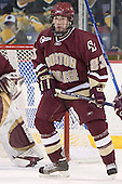 Brian O'Hanley - The University of Massachusetts-Lowell River Hawks defeated the Boston College Eagles 6-3 on Saturday, February 25, 2006, at the Paul E. Tsongas Arena in Lowell, MA.