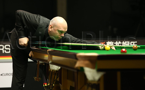 1st February 2019, Berlin, Germany; Stuart Bingham Snooker Berlin German Masters in Tempodrom