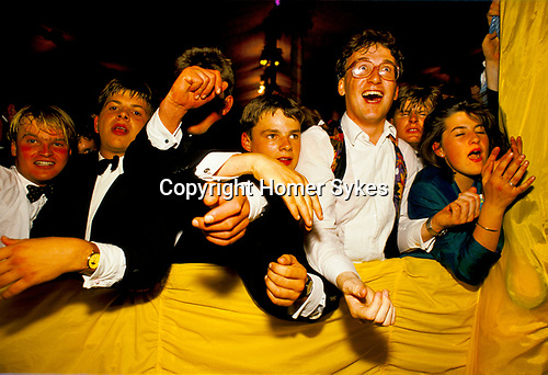 REVELLERS AT CIRENCESTER BALL 1990,