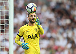 Tottenham's Hugo Lloris in action during the premier league match at the Wembley Stadium, London. Picture date 20th August 2017. Picture credit should read: David Klein/Sportimage